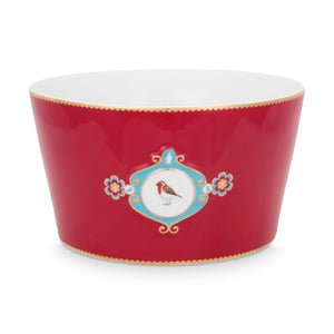 Love Bird Bowl 20 Cm, Red