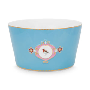 Love Bird Bowl 20 Cm, Blue