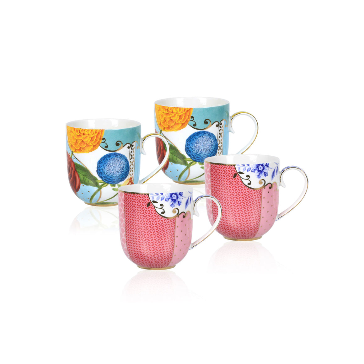 PIP STUDIO ROYAL 4'LÜ MUG SET