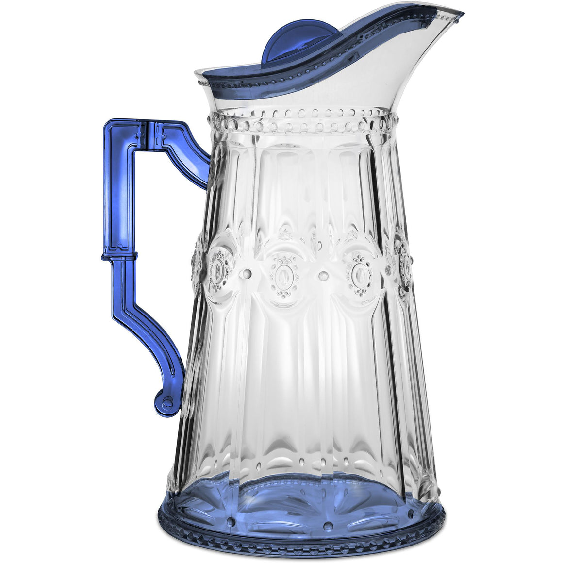 Caped Jug, Blue, 2 LT