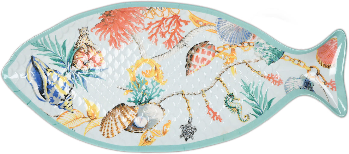 St. Serving Platter in Tropez Large Fish Form