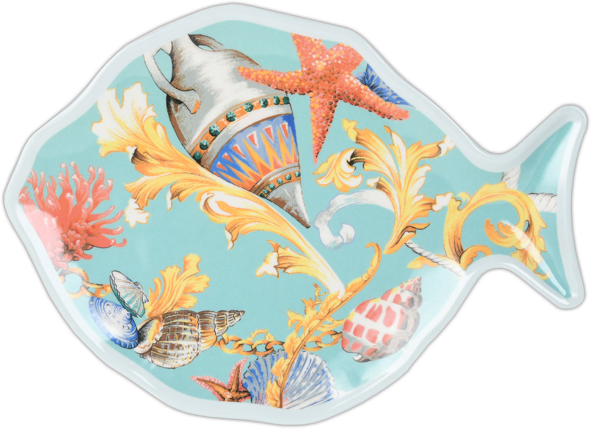 St. Tropez Medium-Sized Presentation Plate In Fish Form