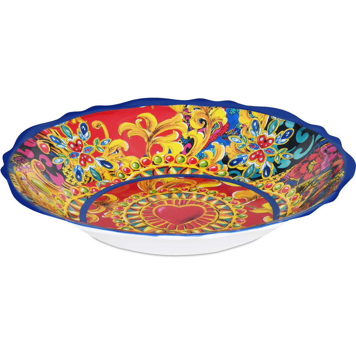Gıo Salad Bowl 35 Cm, Red, 35 Cm