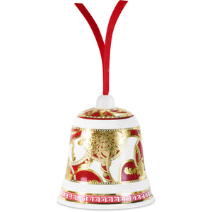 Bell Grain Christmas Ornament, Red,