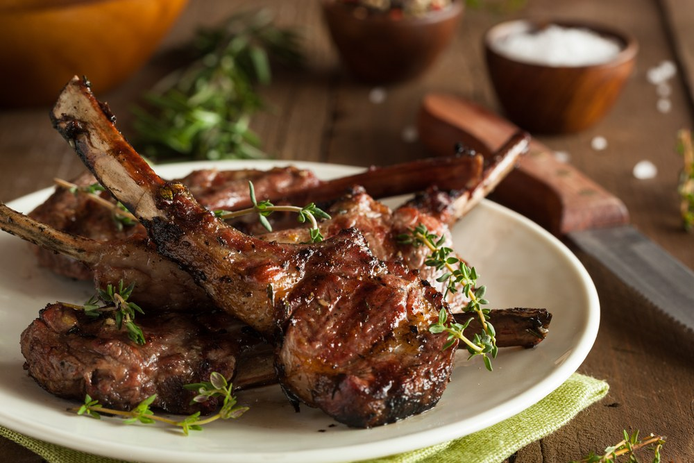 Quick & Easy BBQ Lamb Chops Marinade