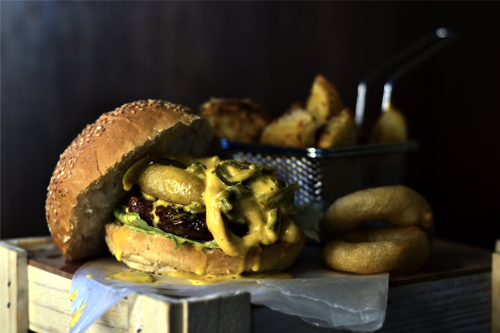 Cheesy Jalapeño Burger Sauce