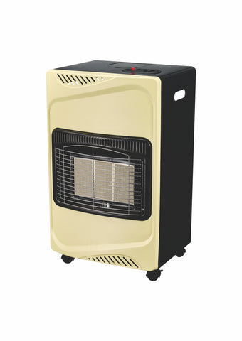 Totai Cream/Black Gas Heater
