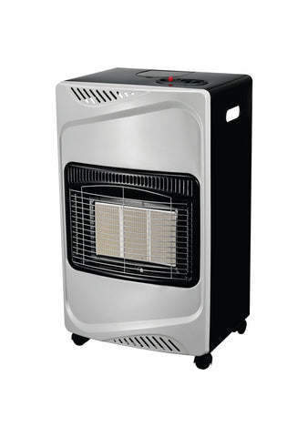 Totai Silver/Black Gas Heater