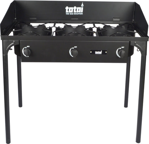 Premium 3 Gas Burner Table