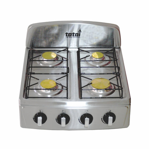 Totai 4 Burner Table Top Gas Stove