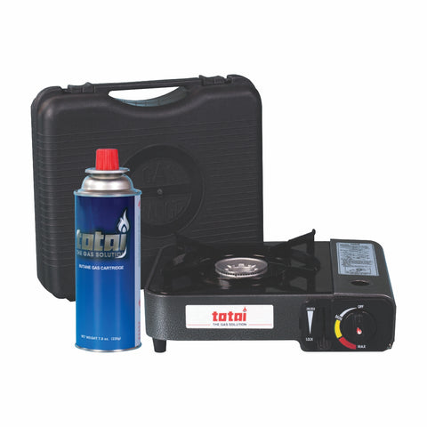 Totai Portable Cartridge Stove + 220g Cartridge Combo