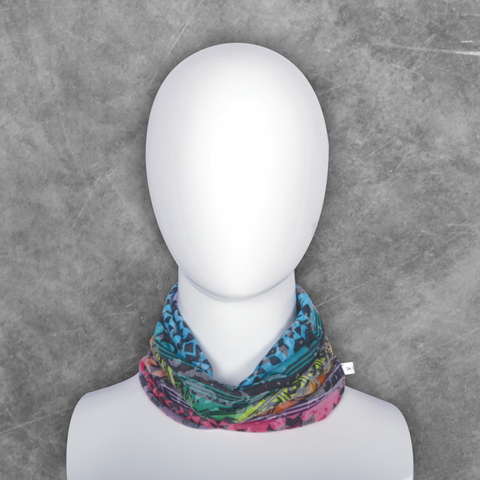 Vertico Multifunctional Neck Warmer/ Gaitor (Pack of 2) - Multi-Colour