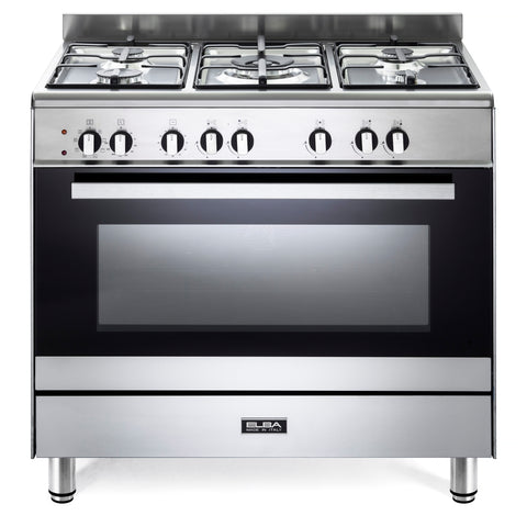 Elba 90cm Classic Freestanding Full Gas Cooker