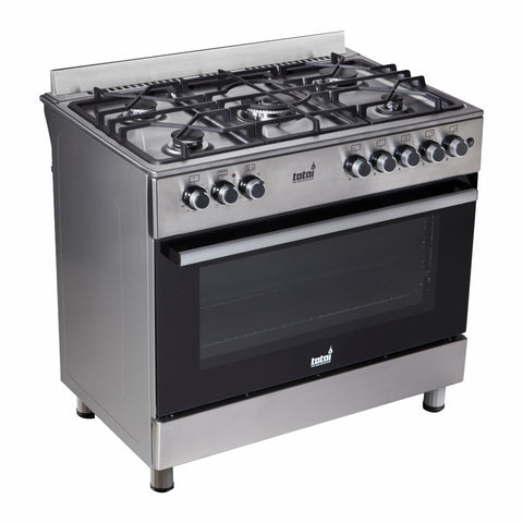 Totai 5 Gas Burner Gas Stove With Electric Oven