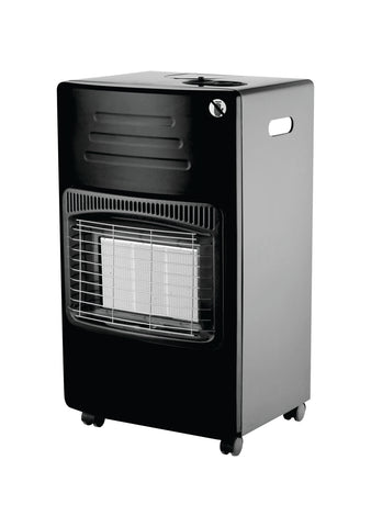 Totai Black/Silver Gas Heater