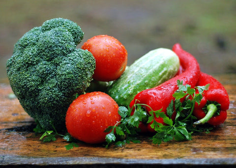 An image of fresh vegetables