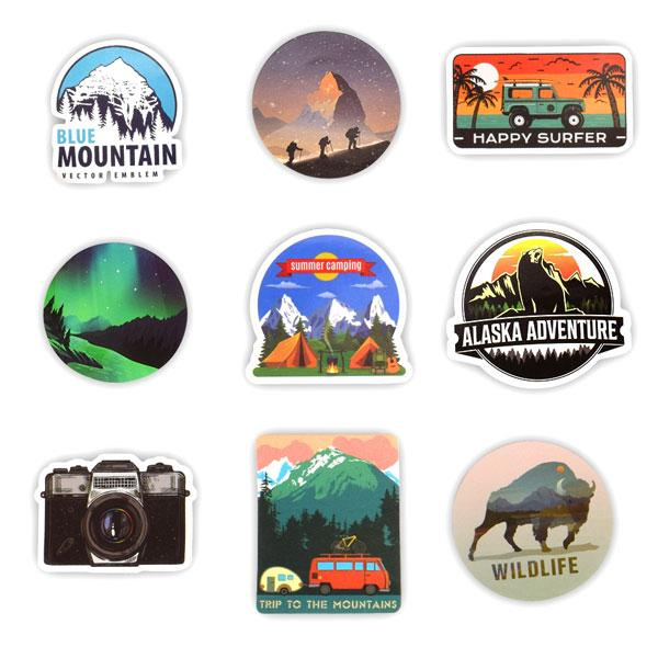 Stickers - Camping Landscape | A Deal Each Week