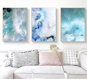 Canvas Print - Cloudy Wave | A Deal Each Week.