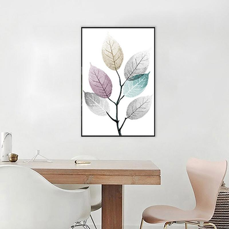 Canvas Print - Color Splash Leaf | A Deal Each Week