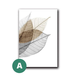 Open image in slideshow, Canvas Print - Color Splash Leaf | A Deal Each Week