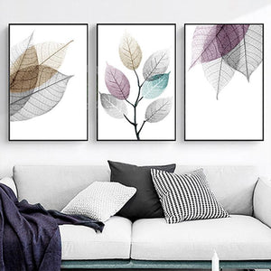 Canvas Print - Color Splash Leaf | A Deal Each Week.