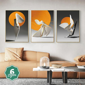 Canvas Print - Dancing Waves | A Deal Each Week.
