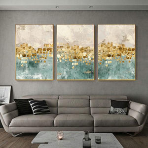 Canvas Print - Golden Coins | A Deal Each Week.