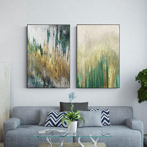 Canvas Print - Green & Yellow Pull | A Deal Each Week.