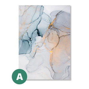 Open image in slideshow, Canvas Print - Marble Abstract | A Deal Each Week