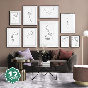 Canvas Print - Minor Lineations | A Deal Each Week.