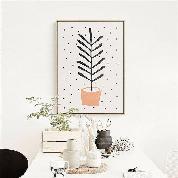 Canvas Print - Potted Plants | A Deal Each Week