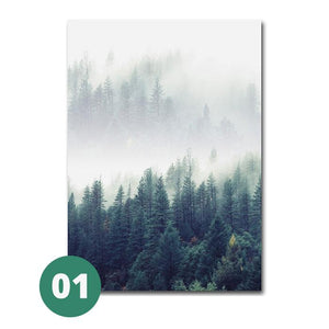 Open image in slideshow, Canvas Print - Forest Landscape | A Deal Each Week
