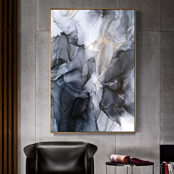 Canvas Print - Ink Abstract | A Deal Each Week