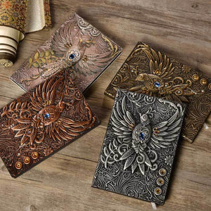 Embossed Notebook - Phoenix | A Deal Each Week