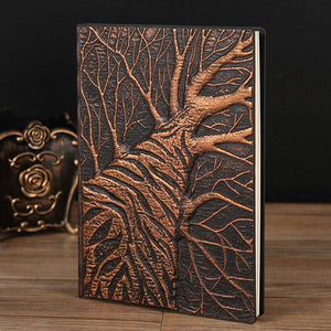 Open image in slideshow, Embossed Notebook - Tree | A Deal Each Week