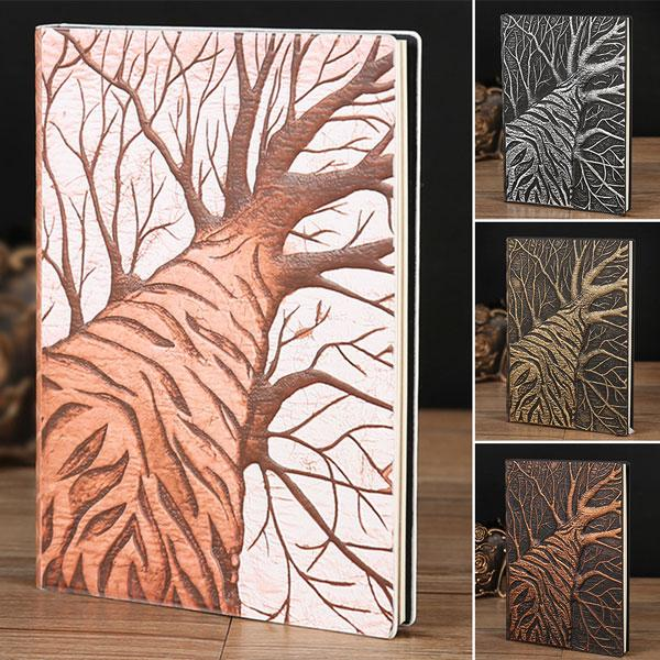 Embossed Notebook - Tree | A Deal Each Week