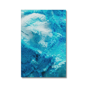 Open image in slideshow, Framed Canvas Print - Blue Blocks | A Deal Each Week