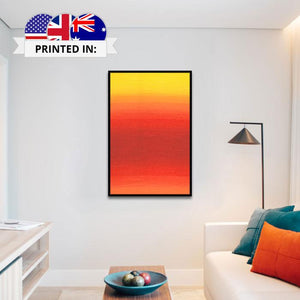 Framed Canvas Print - Rising | A Deal Each Week
