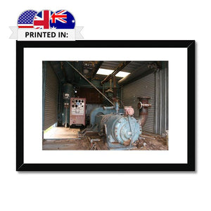 Framed Print - Dilapidated Machinery | A Deal Each Week