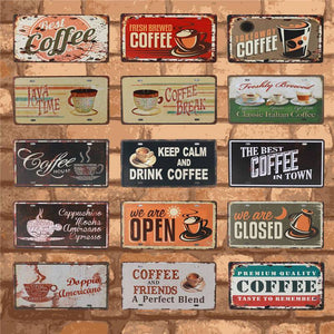 Metal Coffee Signs | A Deal Each Week