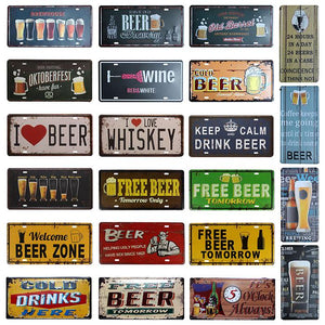 Metal Drink Signs | A Deal Each Week