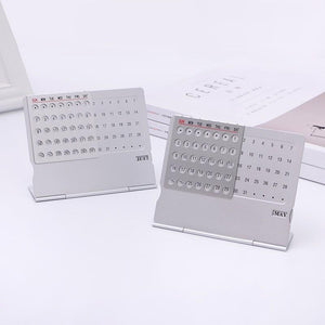 Metal Perpetual Calendar | A Deal Each Week