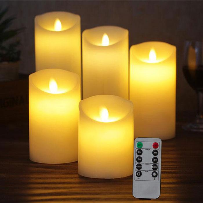 LED Candles + Remote | A Deal Each Week