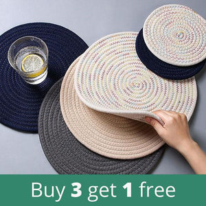 Round Woven Placemats | A Deal Each Week