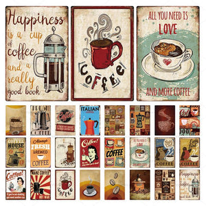 Vintage Coffee Signs | A Deal Each Week