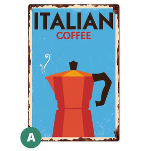 Open image in slideshow, Vintage Coffee Signs | A Deal Each Week