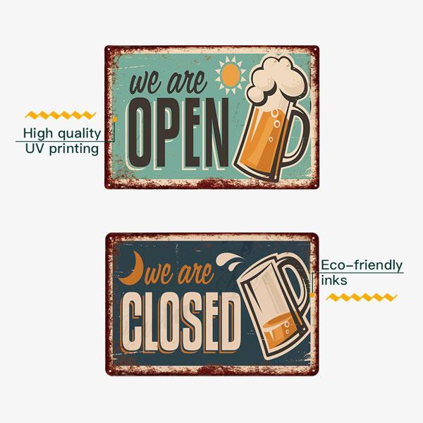 Vintage Metal Signs | A Deal Each Week