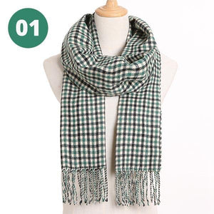 Open image in slideshow, Warm Plaid Scarves | A Deal Each Week