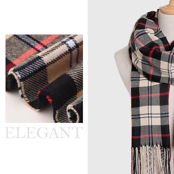 Warm Plaid Scarves | A Deal Each Week