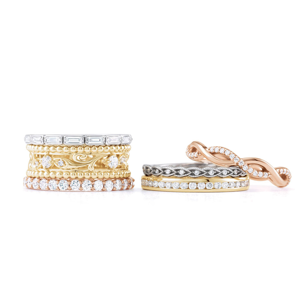 Ladies Diamond Eternity Bands
